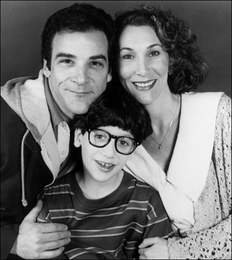 Mandy Patinkin, Sevan Cotel and Randy Graff in Falsettos